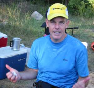 John Dodds at the Massanutten Trail 71 Miler