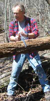 Stan Saws a Log