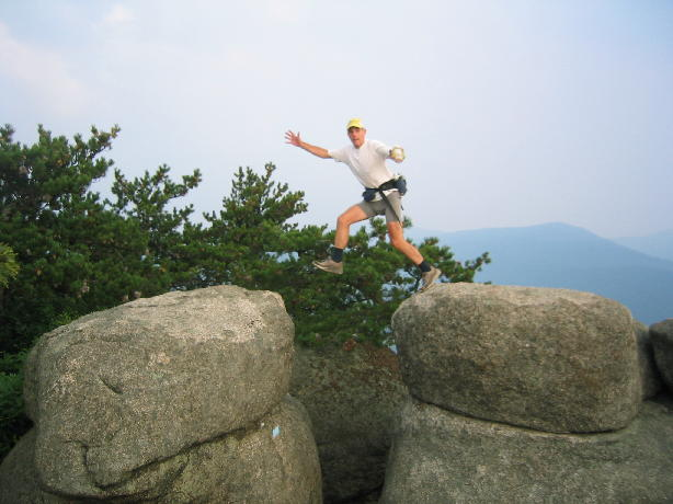 John on Old Rag