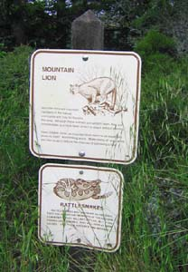 Signs on the Trail