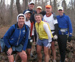 Photo of group on Dickey Ridge Trail