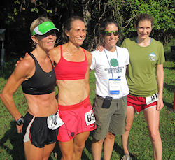 Eliza O'Connell, Ragan Petrie, RD Kate Abbott, and Martha Nelson