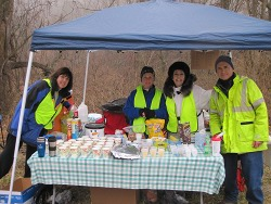Famous Aid Station Volunteers