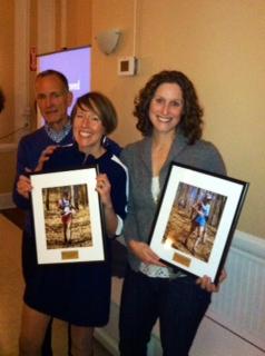 Tracy and Sara share most improved award