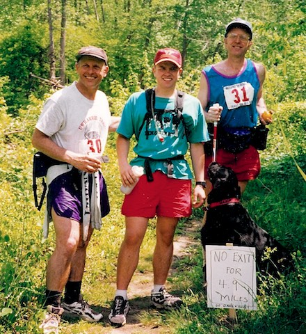 Gary, Keith, and Ron at the 1997 MMT