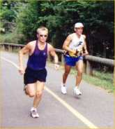 Mike and Courtney at the TRAC 1997